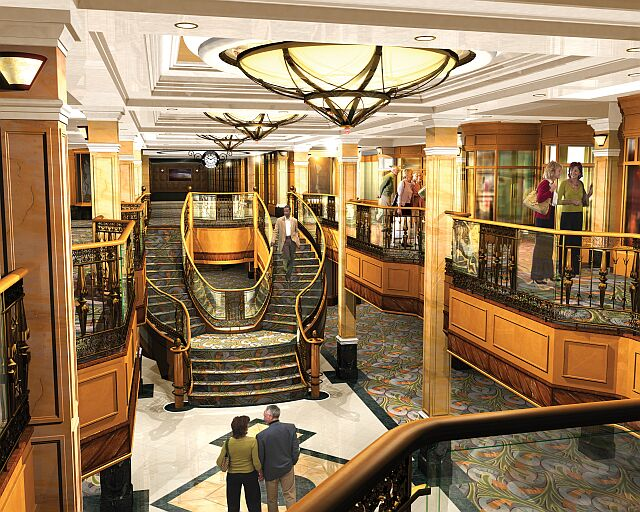 Queen Elizabeth Royal Arcade Cunard Queens